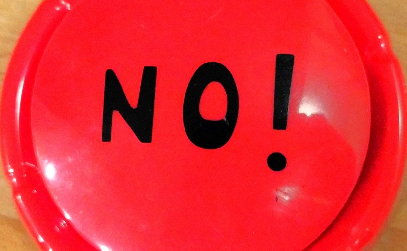 "Sharing, Caring, and the Word ""No"""