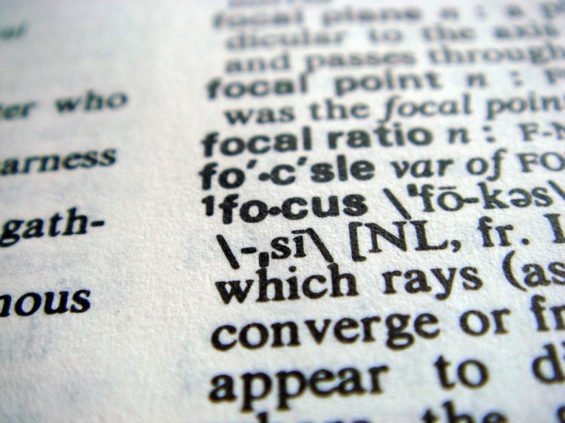 Focus, Please